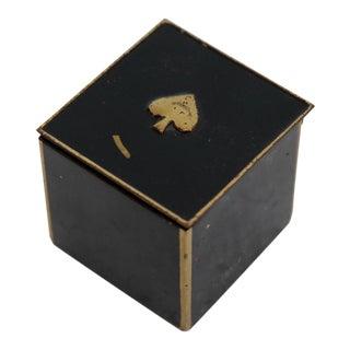 Brass German Spade Box