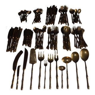 Bronze Flatware Set Setting for 12 - 144 Pieces