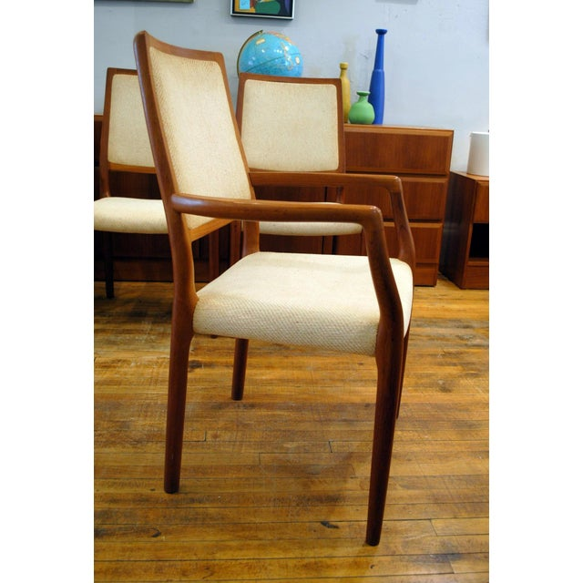 JL Moller Vintage Teak Dining Chairs - Set of 4 - Image 7 of 11