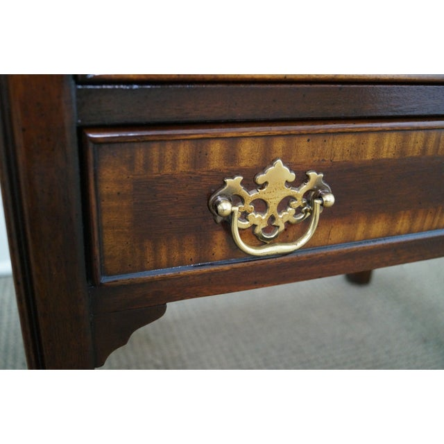 Drexel Heritage Chippendale-Style Nightstand - Image 8 of 10