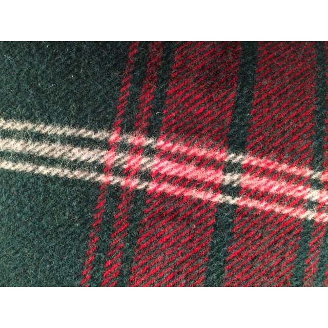 Blanket Pillows, Red and Green Plaid - Pair - Image 5 of 6