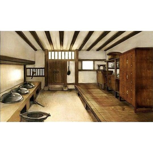 Amazing Antique 19th Century Korean | Chinese | Japanese Tansu Cabinet Iron Pulls and Hardware - Image 9 of 9