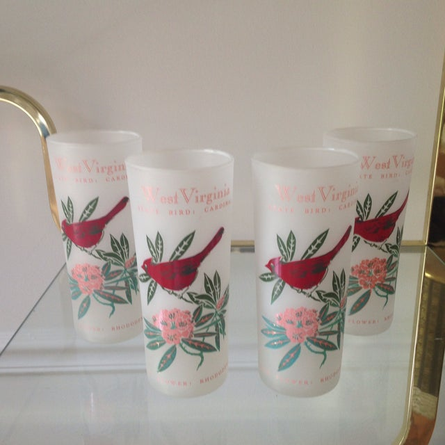 West Virginia State Tom Collins Glasses - Set of 4 - Image 2 of 3