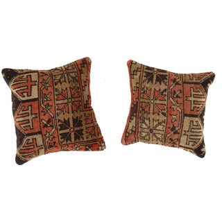 Pasargad Vintage Oushak Pillows - a Pair