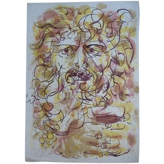 Mid C. Limited Edition Signed Lithograph, H. Erni