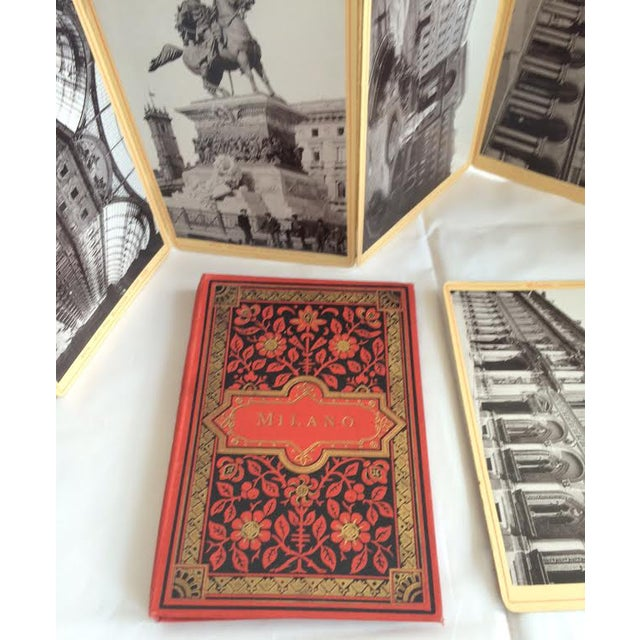 Vintage Italian Red Postcard Books - A Pair - Image 6 of 10