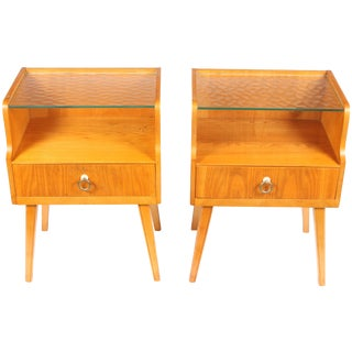 Gustavian Side Tables - a Pair