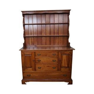 Stickley Vintage Cherry Open Hutch Cupboard