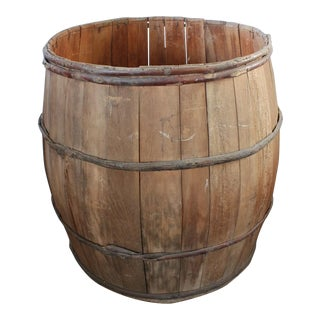 Giant Vintage Wood Barrell