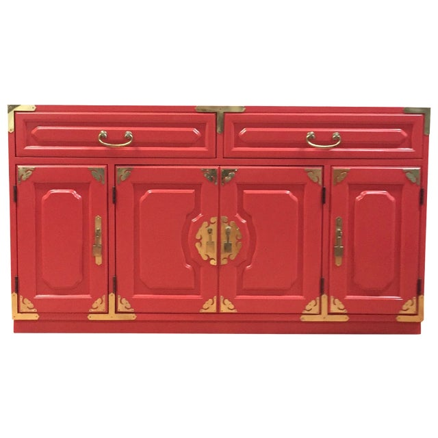 Bernhardt Million Dollar Red Buffet - Image 1 of 4