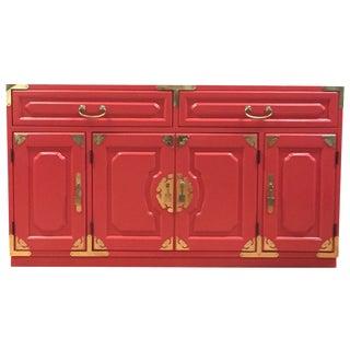 Bernhardt Million Dollar Red Buffet