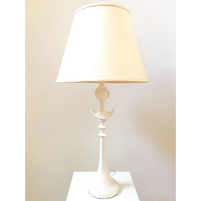 Mid-Century 1940's White Lamp - Image 5 of 8
