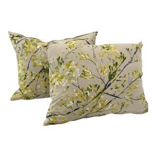 Floral Custom Pillows - A Pair