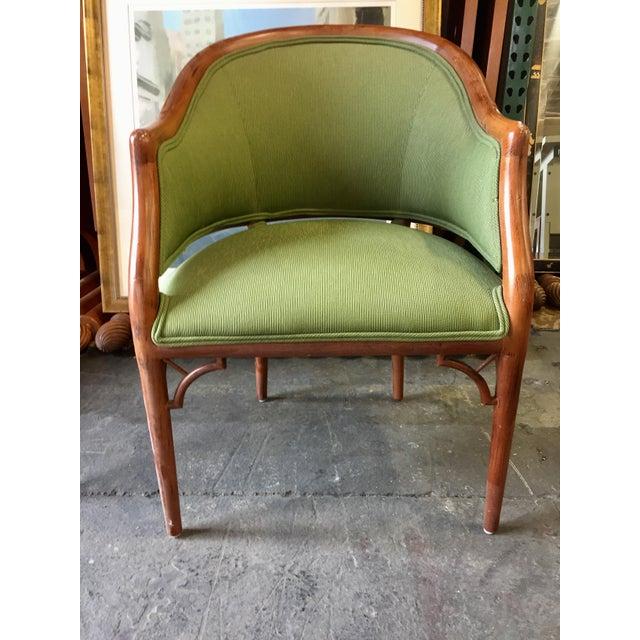 Green Corduroy & Bent Wood Chair - Image 2 of 8