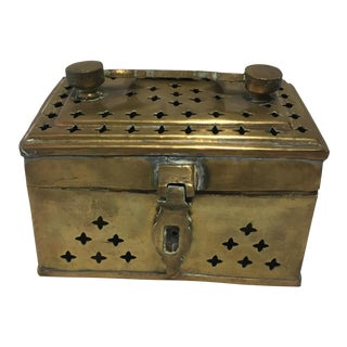 Pakistani Brass Cricket Box