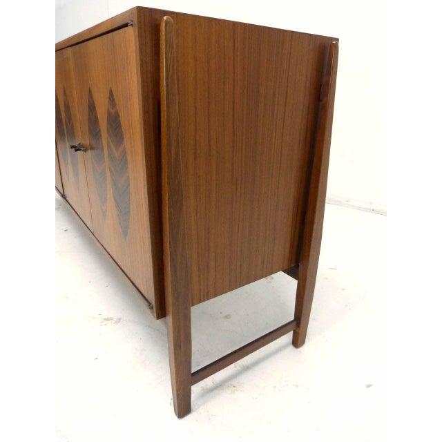 Kipp Stewart for Calvin Furniture Teak & Rosewood Inlay Sideboard - Image 8 of 11