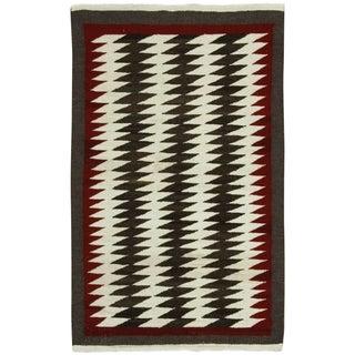 Vintage Navajo Rug - 2′5″ × 3′10″