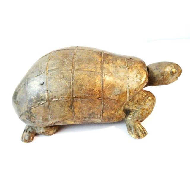Bronze Akan Cote d'Ivoire Turtle - Image 3 of 7