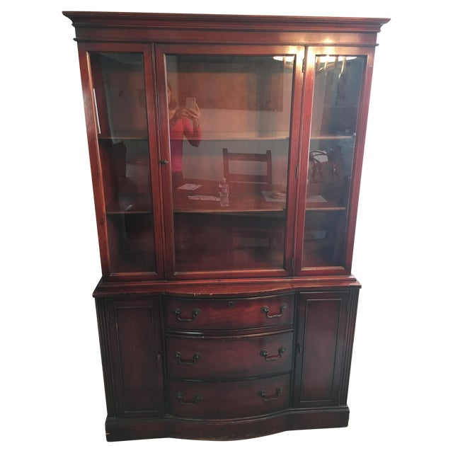 Traditional China Hutch - Image 1 of 10