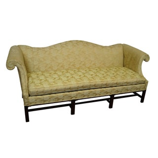 Hickory Chair Mahogany Frame Chippendale Sofa