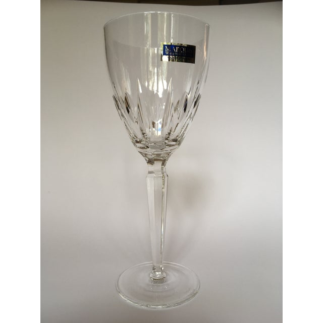 Waterford crystal marquis white wine glasses set of 8 chairish - Waterford colored wine glasses ...