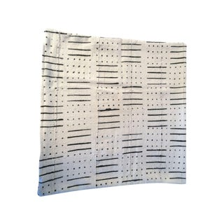 African Mud Cloth Pillow Cover