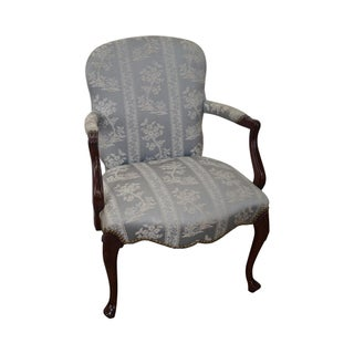 Hickory Solid Mahogany Queen Anne Style Side Chair
