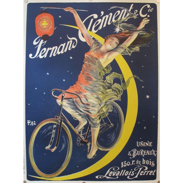 Image of French Fernand Clement Bicycle Poster Art Print