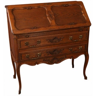 Vintage French Louis XV-Style Secretary Desk