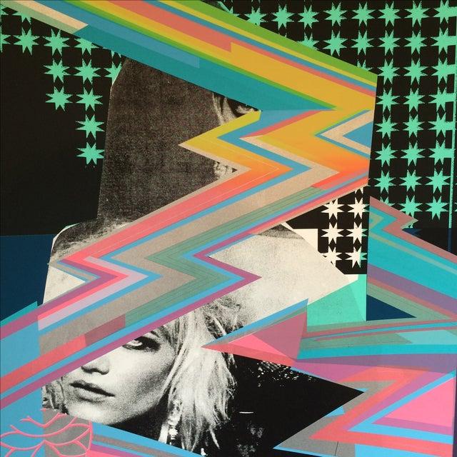 Image of Blondie Silkscreen Poster