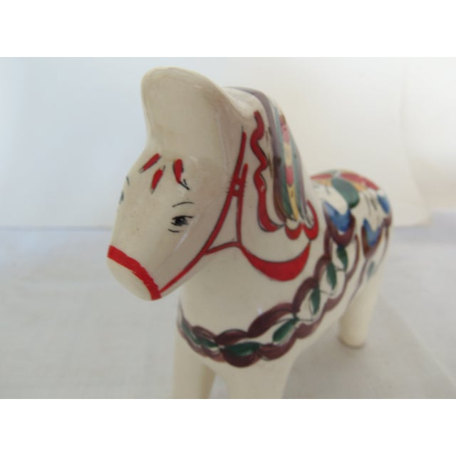 Scandia Hand-Painted Horse Statue - Image 3 of 3