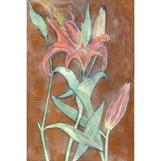 Gilding / Lily Original Watercolor