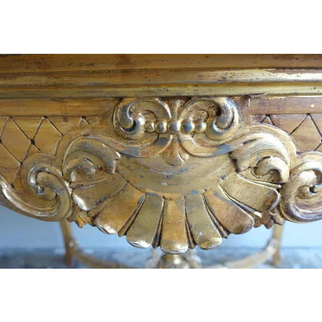 19th Century French Shell Design Table - Image 8 of 9