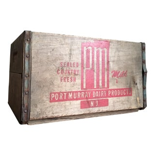 Vintage Port Murray Wooden Crate