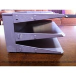 Image of Vintage Lit-Ning Products 3 Tray Desk Organizer