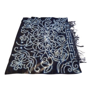 Hand Batik Tribal Fringed Wall Hanging