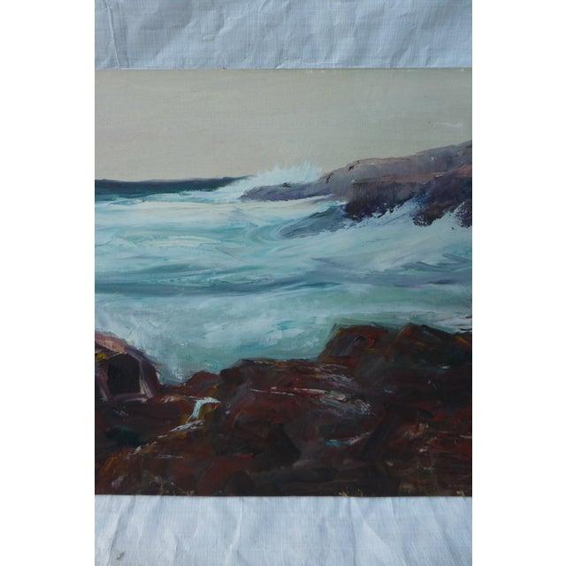 h.l. Musgrave Mid-Century Atlantic Ocean Painting - Image 4 of 7