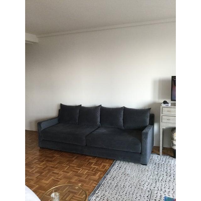 Gus* Modern Flipside Velvet Sofa - Image 3 of 10