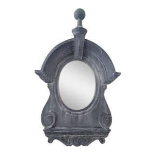 Sculptural Dormer Wall Mirror