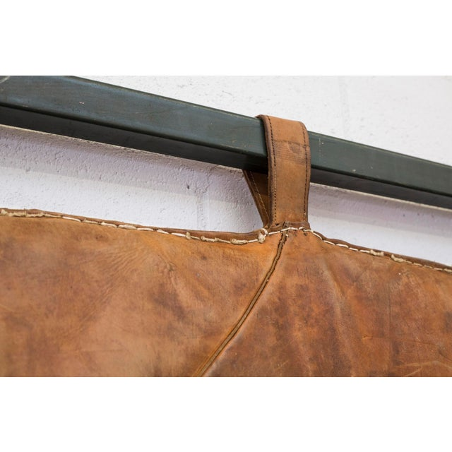 Vintage Leather Gymnastics Mat - Image 5 of 8
