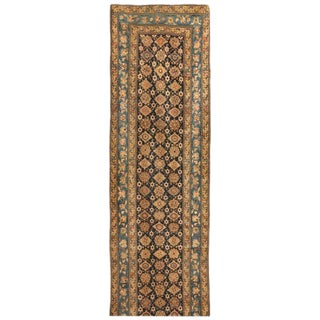 Exceptional Antique 19th Century Caucasian Karabagh Runner