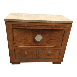Drexel Travertine Top Bachelor's Chest