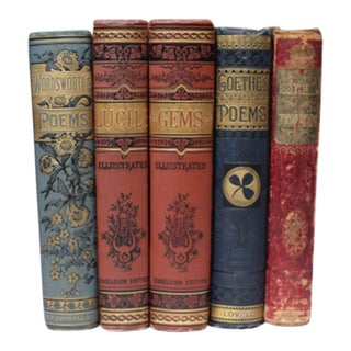 19th c. Set of Books c. 1861 to Early 20th c.