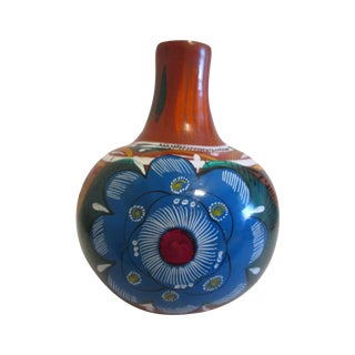 Mexican Artisan Ceramic Water Jug