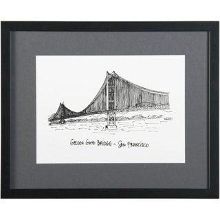Framed San Francisco Golden Gate Bridge Print