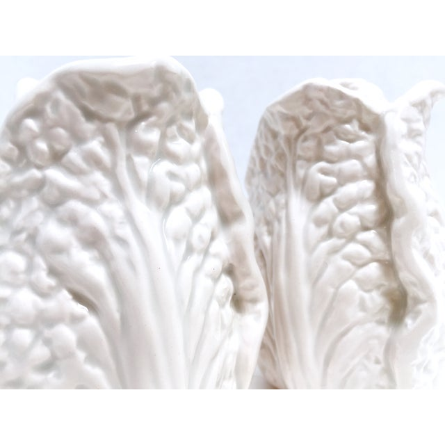 Fitz & Floyd White Cabbage Shakers - A Pair - Image 7 of 8