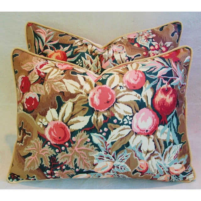 Designer Brunschwig & Fils Filoli Pillows - Pair - Image 7 of 11