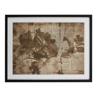 Vintage Sarreid LTD Framed Artist Edition Print