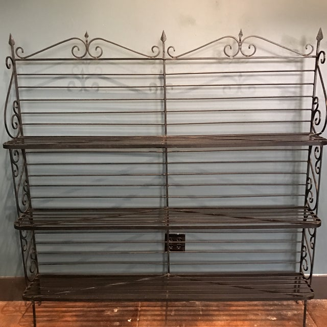 Wrought Iron Baker's Rack - Image 3 of 7