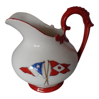 Antique Limoges French Cream Pitcher